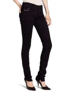 Diesel Women's Grupee Super Skinny Leg Jean 0800R, Black, 28x32 Diesel http://www.amazon.com/dp/B0083FTYFG/ref=cm_sw_r_pi_dp_Y6.Fub10ZZDSE