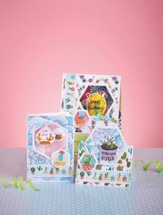 Designer Rhiannon Bull has played with a range of proportions, so there is a giant succulent that's ideal for a background as well as lots of ditsy little cacti to finish off a gift tag, and plenty of toppers to make a focal feature on your cards. Pair with white paper (or card) for easy coordination when making your cards or scrapbook pages. Using kraft card in your projects would also work really well with these cactus printables. Paper Cactus, Happy Birthday Love, Christmas Card Template, Do It Yourself Crafts, Printable Paper, Craft Party, Free Paper, Pattern Paper, Your Cards