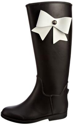 8c36dd0ee526 Ted Baker Women s Mardea Black Cream Wellingtons Boots 9-10294 3 UK  Amazon. co.uk  Shoes   Bags