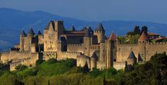 Carcassonne, France, one of the most breathtaking and impressive fortified cities in Europe