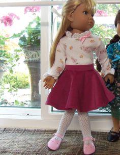 Fits: Kidz N Cats Dolls Handmade OOAK Back to School Skirt Set by Lynsdollclothes on Etsy https://www.etsy.com/listing/242514260/fits-kidz-n-cats-dolls-handmade-ooak