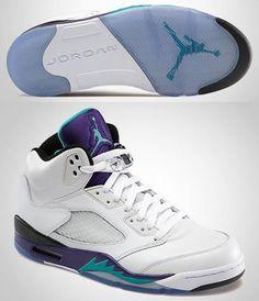 """Sneaker Game – Nike Air Jordan V """"Grape"""""""