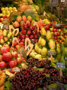 Fruits Market Barcelona
