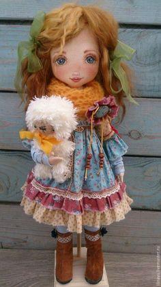 Коллекционные куклы ручной работы. Ярмарка Мастеров - ручная работа. Купить Кукла Злата. Handmade. Рыжий, кукла в подарок