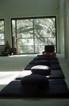 Zazen meditation room