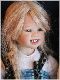 Дюймовочки приезжают, только когда на улице солнечно! / Коллекционные куклы Annette Himstedt / Бэйбики. Куклы фото. Одежда для кукол