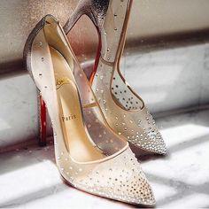 Modern day Cinderella slippers