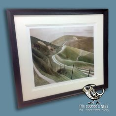 Eric Ravilious was a fabulous artist and here's a print by him we had in for framing last week. This is a wonderful example of his work and we've used a delicious Mantilla frame, double mount and Artglass to present it beautifully. The Mantilla range of frames has been proving very popular of late, it comes in Black, Gold, Silver and Ivory and has a gorgeous satin finish that adds a luxury touch to those special pieces of artwork.