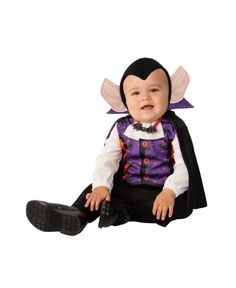 Baby Costumes For Boys, Boy Costumes, Adult Costumes, Costume Ideas, Baby Vampire Costume, Vampire Costumes, Halloween Bebes, Toddler Halloween Costumes, Jessie Halloween