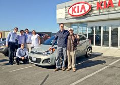 Picking up your new Kia Rio5 in Newmarket, Ontario :)