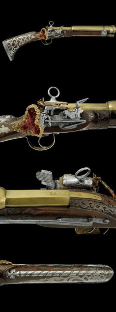 A miquelet grenade launcher.dating: last quarter of the 18th Century provenance: Spain