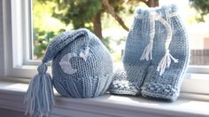 Newborn baby girl or boy hand knitted pants and by MyLittleKnits, $49.00