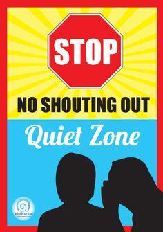 No Shouting poster