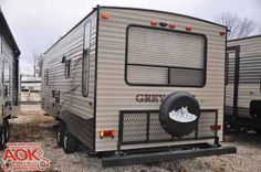 "2016 New Forest River Grey Wolf 25RL Travel Trailer in Missouri MO.Recreational Vehicle, rv, You'll love AOK RVs ""out the door"" pricing! We make the RV buying experience fun...No hidden fees, no commissioned salespeople...just friendly people who will help you choose the camper that's best for your needs!"
