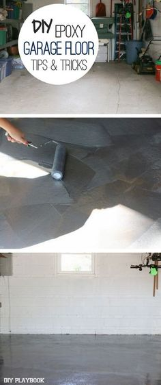 DIY-ing my Garage Floor with Epoxy