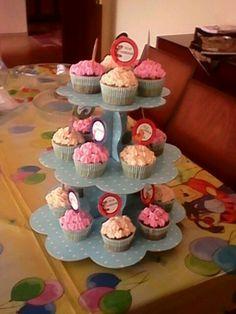 Ispanaklı cupcakeler...