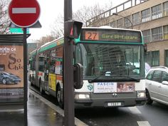 porte d'Ivry ligne 27 Transport Public, Ligne Bus, Busses, Pcm, Taxi, Vehicles, Illustrations, Vintage, Parisians