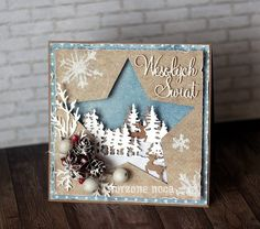 Fantastic Photos die cut Christmas cards Popular Yuletide plus the Fun Time of year tend to be quick approaching. The quicker you have organized usin Christmas Paper Crafts, Homemade Christmas Cards, Handmade Christmas, Homemade Cards, Die Cut Christmas Cards, Xmas Cards, Holiday Cards, Christmas Stars, Winter Cards