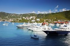 Yacht Haven Grande Marina can host mega yachts up to 656′ feet in length.