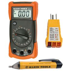 $39 - Klein Tools Electrical Analog Multimeter Test Kit-69149 - The Home Depot
