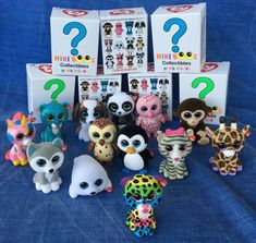 W-F-L Ty Mini Boos Collectible Figures 5 cm Beanie Boos Selection Hand Painted Baby Alive Doll Clothes, Baby Alive Dolls, Ty Beanie Boos Collection, Ty Animals, Mini Boo, Diy For Girls, Pet Shop, 5th Birthday, Plushies
