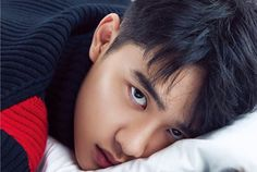 EXO's D. is dark yet charming on the cover of 'Allure' Chanyeol, Kyungsoo, Exo Ot12, Kaisoo, Chen, Exo Do, Kim Minseok, Do Kyung Soo, Exo Members
