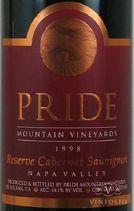 Pride Mountain Cabernet