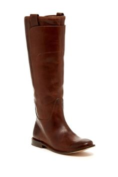 Image of Frye Paige Tall Leather Riding Boot