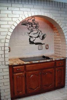 Chef Vinyl Wall Decal Sticker Graphic By LKS Trading Post: Home & Kitchen
