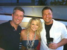 Miranda with Tony and Kris