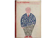 One Fat Englishman Typographic Book Cover