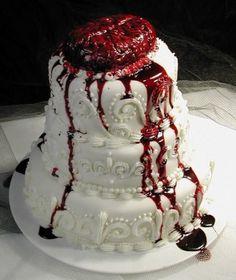 10 Coolest Zombie Wedding Cakes - Oddee.com (zombie, wedding...)