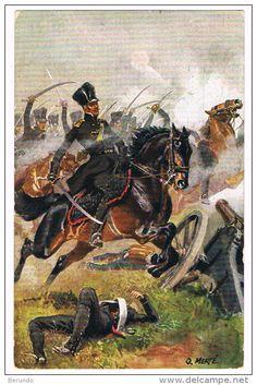 befreiungskriege 1813, Officer Luetzow's Freikorps