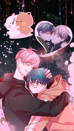 Anime Base Chibi, Pond Snails, Anime Wallpaper Live, Japanese Cartoon, Cute Gay Couples, Character Wallpaper, Manga Boy, Manga Characters, Mystic Messenger