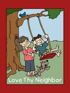 Love Thy Neighbor – LDS Coloring Book – LDS Mobile Apps Download a free PDF of this coloring book
