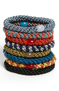 L. Erickson Ponytail Holders (Set of 8) available at #Nordstrom