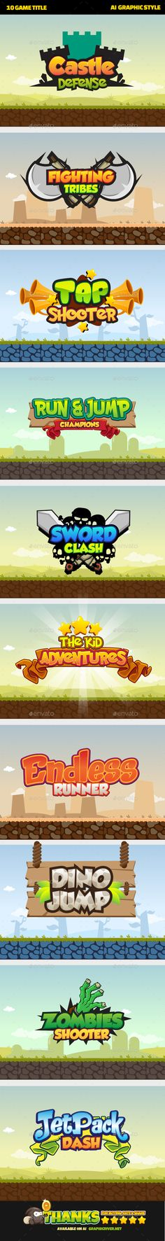 Game Title Download here: https://graphicriver.net/item/game-title/19581099?ref=KlitVogli