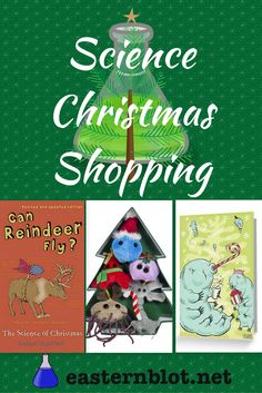 A hand-picked selection of science Christmas cards, books, jumpers, decorations, and more.