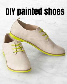 Custom Painted Shoes for the Graduate with Personality | Martha Stewart Living - How do you tell one graduate from another in a sea of identical gowns? You let his or her personality shine through other ways!