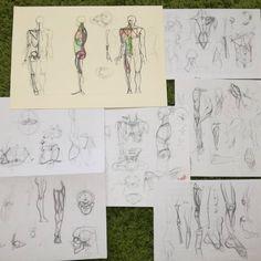 #искусство #скетчбук #скетч #анатомия #наброски #art #artwork #drawing #illustration #иллюстрация #anatomy #people #sketch #sketchbook #human #body #тело