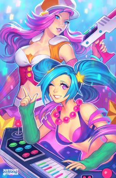 League of Legends,Лига Легенд,фэндомы,Miss Fortune,Sona,Maven of the Strings