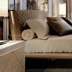 LUXURY BEDS Sculptural Bed Design | TAYLOR LLORENTE FURNITURE