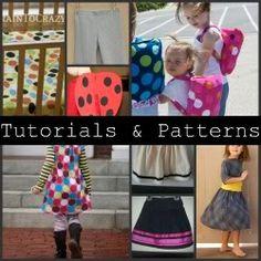 Kids' Clothes Tutorials Roundup