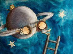 Παίζουμε μαζί: Πανέμορφες ζωγραφιές για να διακόσμησετε το παιδικό δωμάτιο.