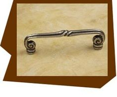 """Anne At Home Mai-Oui Thin Cabinet Pull-4″ ctc Standard 8/32 x 7/8″ long screws provided for knobs and pulls as well as hanger bolts for hooks."""""""