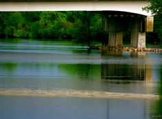 river perspective ~ Gallup Park, Huron River Watershed