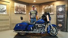 Congratulations Jason on your purchase of a new 2017 Street Glide Special from me here at Harley Davidson of Kokomo