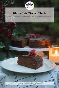 Für die Schokoladeliebhaber hab ich nun den Klassiker schlechthin. Zwar nicht die Torte, welche 1832 von Franz Sacher kreiert wurde, sondern meine eigene Interpretation! Das Gefühl, wenn die Kuchengabel die Schokoladenkuvertüre durchsticht, fruchtig, aromatische Marillenmarmelade freilegt und den saftigen Schokoladenteig teilt, ist unbeschreiblich. ... Desserts, Food, Mint, Cherries, Glutenfree, Chocolate, Dessert Ideas, Tailgate Desserts, Deserts