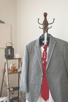 Vintage menswear with a pop of color. www.greenseedphotography.com