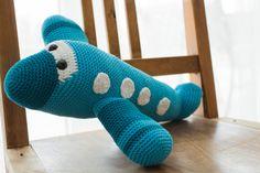 crochet handmade airplane, amigurumi toys
